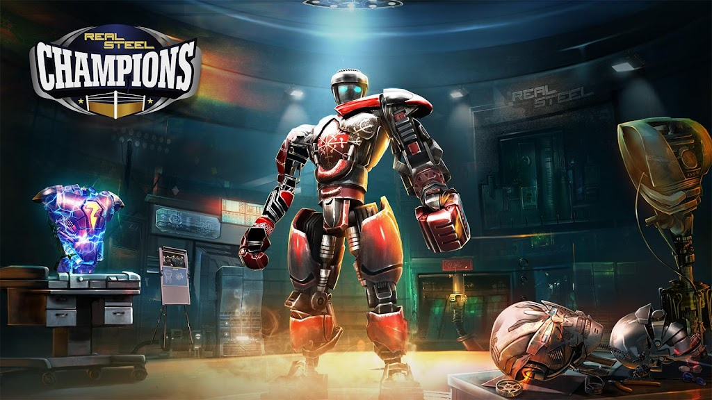 Real Steel Boxing Champions MOD poster 0