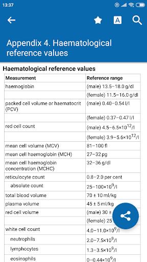 Oxford Dictionary of Nursing  screenshots 1