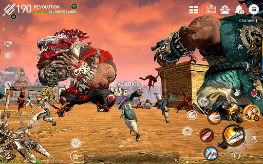 Blade&Soul: Revolution Varies with device screenshots 14