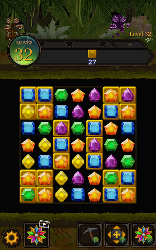 Secret Jungle Pop : Match 3 Jewels Puzzle Apkfinish screenshots 14