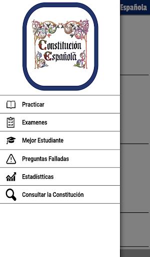 Tests oposiciu00f3n constituciu00f3n Espau00f1ola apktram screenshots 17