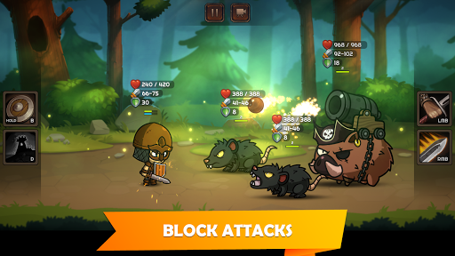 Kinda Heroes: The cutest RPG ever! apklade screenshots 2