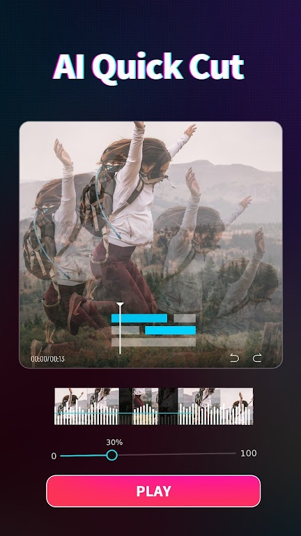 Magic Video Maker - Video Editor with music  poster 0