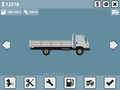 Mini Trucker – 2D offroad truck simulator MOD APK 1.6.0 (Purchase Free) 9
