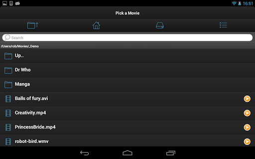VLC Streamer Free 2.47 (3533) Screenshots 13