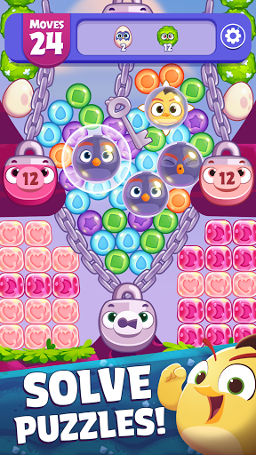 Angry Birds Dream Blast - Bubble Match Puzzle  screen 1