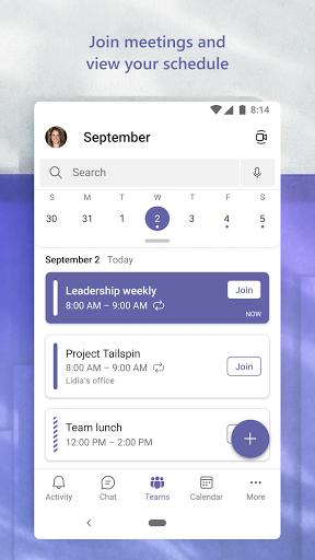 Microsoft Teams apktram screenshots 7