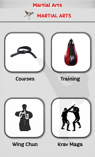 Martial Arts - Training and workouts  screenshots 1