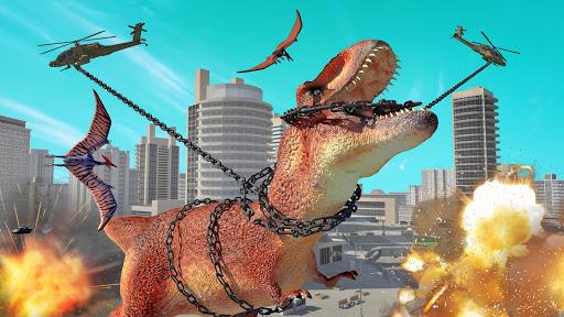 Hungry Dinosaur Hunting Simulator Game 2020 apktreat screenshots 2