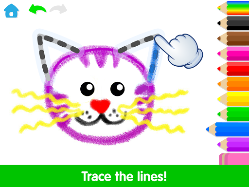 Toddler Drawing Academyud83cudf93 Coloring Games for Kids android2mod screenshots 10