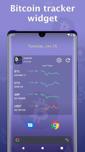 bitcoin prezzo app android