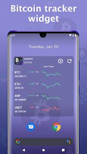 Bitcoin price – Cryptocurrency widget MOD APK 4