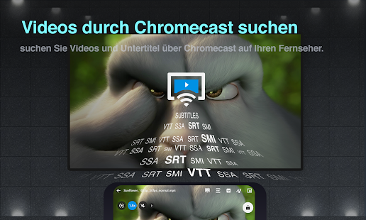 FX Player – video player, konverter, Chromecast Screenshot