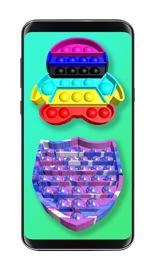 Pop it fidget toy 2! DIY calming asmr popers game 1.0.4 screenshots 3
