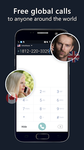 2nd phone number - free private call and texting apktram screenshots 1