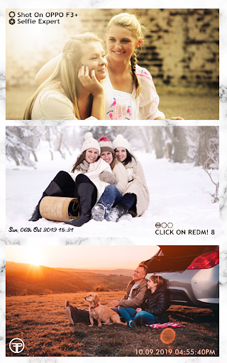 Shot On Stamp Photos with ShotOn Watermark Camera 1.3.1 Screenshots 24