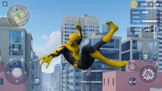 Spider Rope Hero: Crime City Battle 4