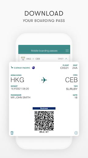 Cathay Pacific 8.7.0 Screenshots 7