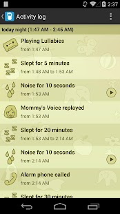 Baby Monitor & Alarm Screenshot