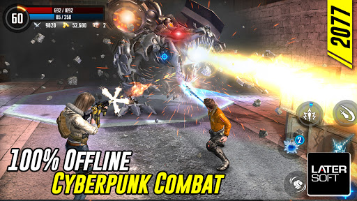 Cyber War: Cyberpunk Reborn (Offline ARPG)  screenshots 8