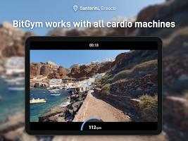 BitGym: Virtual Treadmill & Bike Rides