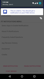 Fit Notifications (for Fitbit) Screenshot