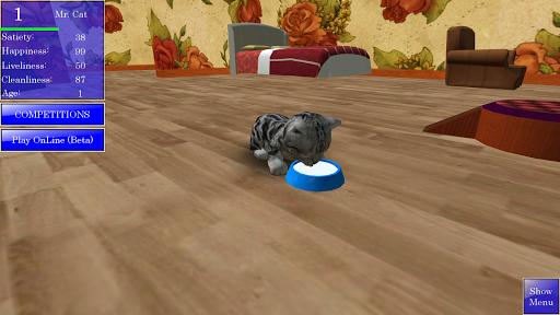 Cute Pocket Cat 3D 1.2.2.6 Screenshots 2