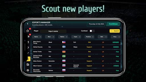 Esports Manager MOBA 1.0.55 screenshots 21