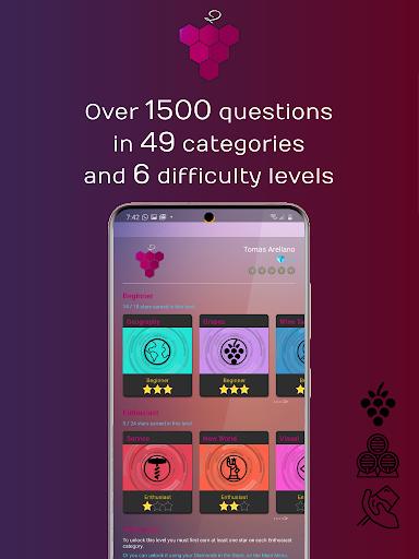 WineQ - Wine Trivia Game  screenshots 2