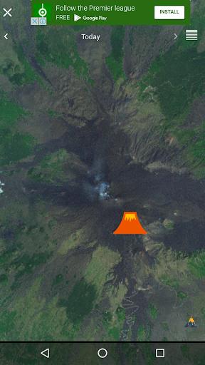 Quake & Volcanoes: 3D Globe of Volcanic Eruptions  Screenshots 2