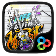 Music life GO Launcher Theme