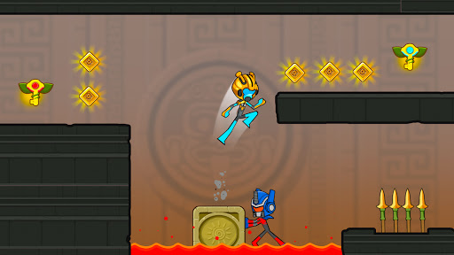 Fire and Water Stickman 2 : The Temple  screenshots 13