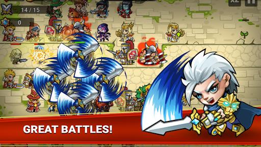 Defense Heroes: Defender War Tower Defense Offline screenshots 1