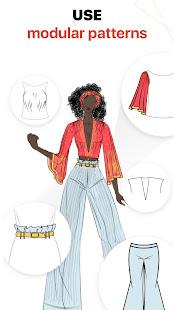 Fashion Design Sketches Book 2.3.1 Screenshots 4