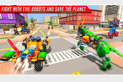 Goat Robot Transforming Games: ATV Bike Robot Game 1.5 screenshots 2
