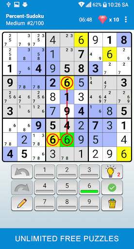 Sudoku - Classic Puzzle Game  screenshots 5