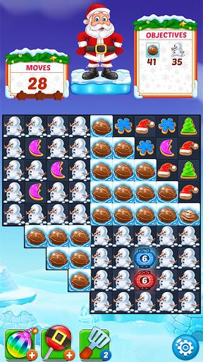 Christmas Cookie - Santa Claus's Match 3 Adventure 3.2.3 screenshots 7