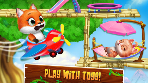 Panda Lu Treehouse - Build & Play with Tiny Pets  Screenshots 7