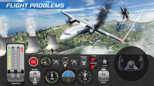 Airplane Flight Pilot Simulator  Screenshots 4