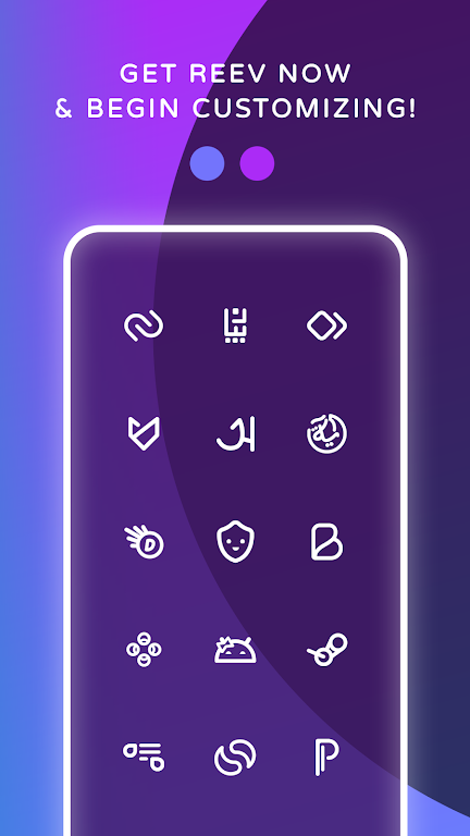 Reev Pro - Icon Pack  poster 5