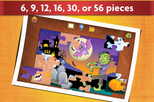 Jigsaw Puzzles Halloween Game for Kids  screenshots 12