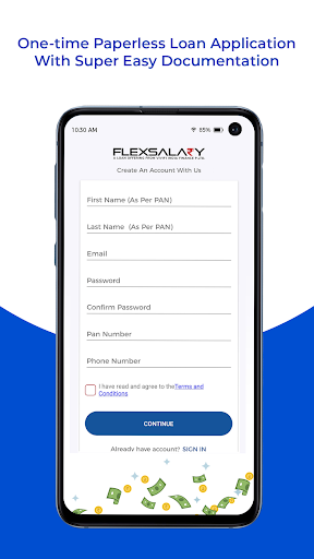 Instant Personal Credit Line Loan App - FlexSalary apktram screenshots 5