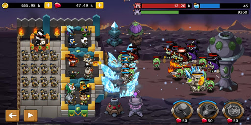 Castle Defense King screenshots 2