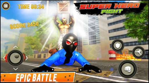 Super Hero fight game : spider boy fighting games 1.0.3 screenshots 12