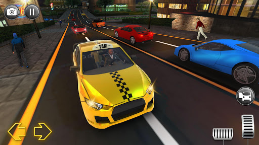 Modern City Taxi Simulator: Car Driving Games 2020 apkpoly screenshots 2