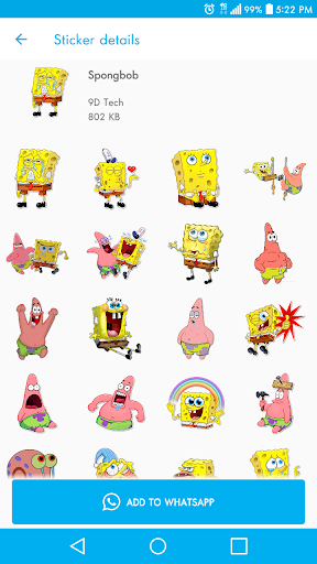New Stickers For WhatsApp - WAStickerapps Free modavailable screenshots 6