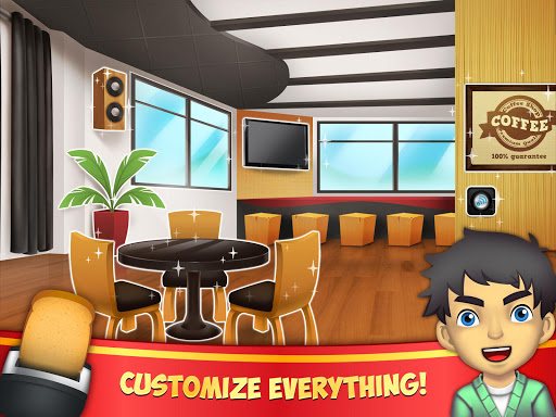 My Coffee Shop - Coffeehouse Management Game 1.0.56 screenshots 7