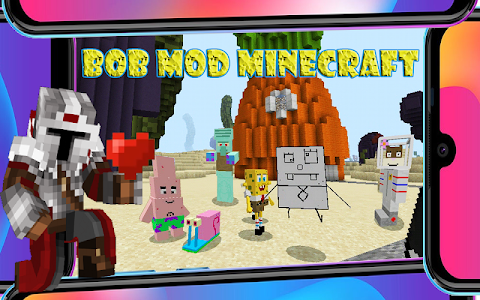 🧽 Bob Mod Minecraft 2.64