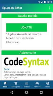 Egunean Behin 0.9.0 screenshots 1