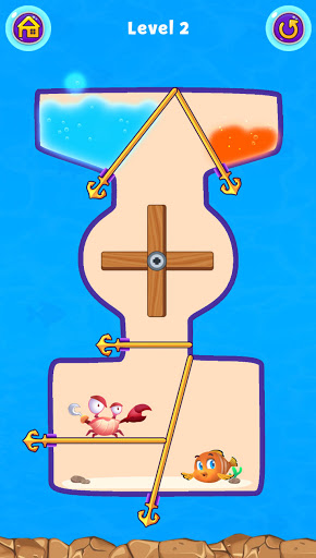 Fish Pin - Water Puzzle & Pull Pin Puzzle apktram screenshots 20